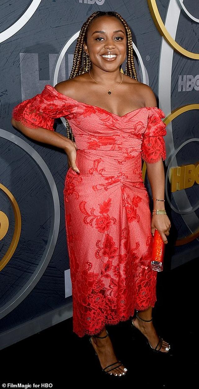 Heidi Klum khoe ngực nảy nở trong tiệc Emmy - 22