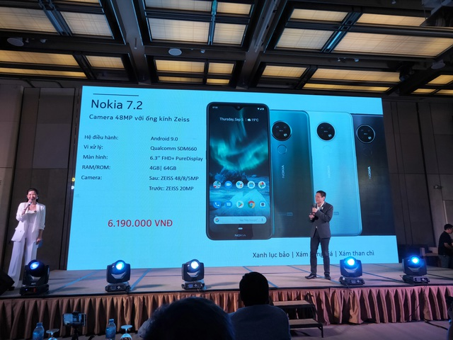 Nokia 7.2 có mặt tại Việt Nam với 3 camera sau, giá 6,2 triệu đồng - 5
