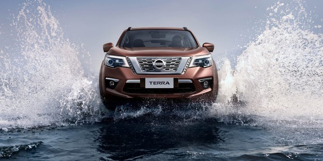 Nissan Terra - Mẫu xe của chuyển động thông minh - 1