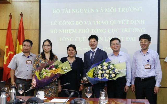 Bộ TN-MT bổ nhiệm 2 Phó Tổng cục trưởng Tổng cục Quản lý đất đai - 1