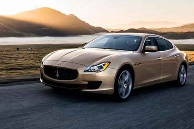 Lỗi đèn pha, Maserati triệu hồi hơn 700 xe - 1