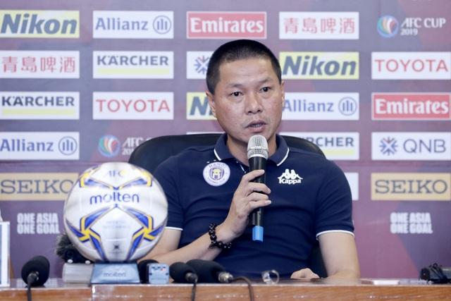 """HLV Chu Đình Nghiêm: """"CLB Hà Nội có tham vọng vào chung kết AFC Cup"""""""