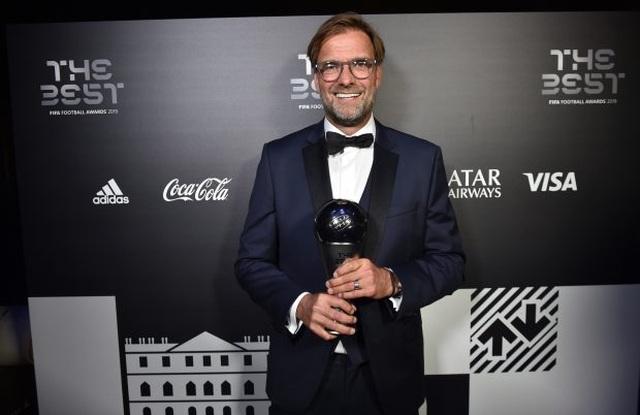 Jurgen Klopp giành giải HLV xuất sắc nhất thế giới - 1