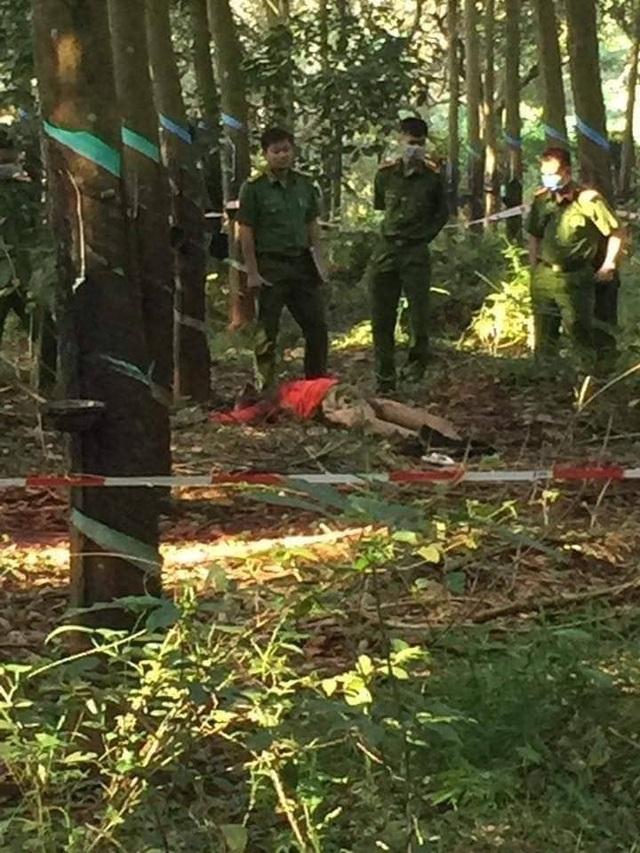 Phát hiện thi thể thiếu nữ nghi bị sát hại trong vườn cao su - 1