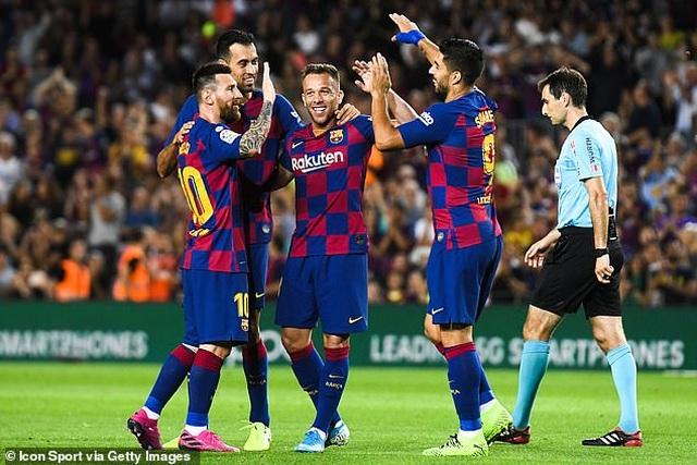 Griezmann tỏa sáng, Barcelona giành 3 điểm quan trọng trước Villarreal - 3