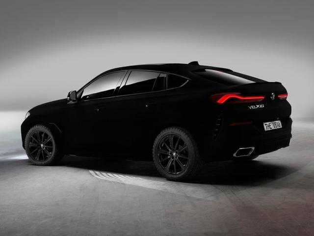 BMW X6 Vantablack - Chiếc X6 đen nhất thế giới - 8