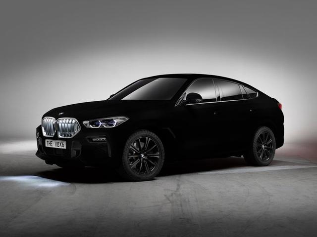 BMW X6 Vantablack - Chiếc X6 đen nhất thế giới - 6