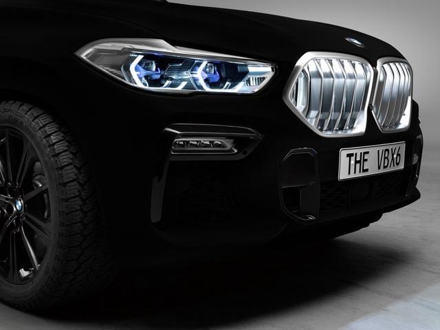 BMW X6 Vantablack - Chiếc X6 đen nhất thế giới - 4