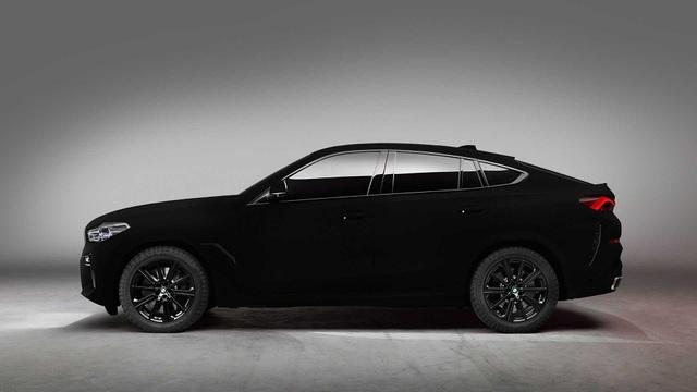 BMW X6 Vantablack - Chiếc X6 đen nhất thế giới - 7