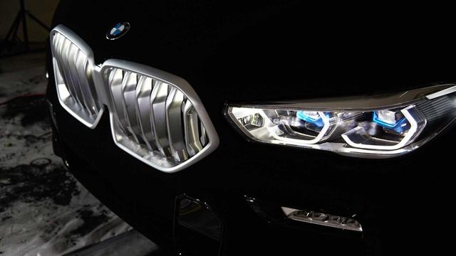 BMW X6 Vantablack - Chiếc X6 đen nhất thế giới - 5