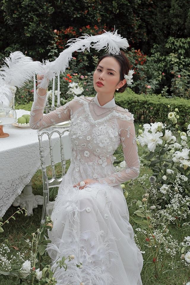 Vừa công khai yêu em chồng Hà Tăng, Linh Rin đã bất ngờ mặc áo dài cưới - 22