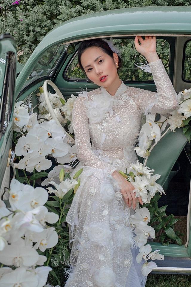 Vừa công khai yêu em chồng Hà Tăng, Linh Rin đã bất ngờ mặc áo dài cưới - 21