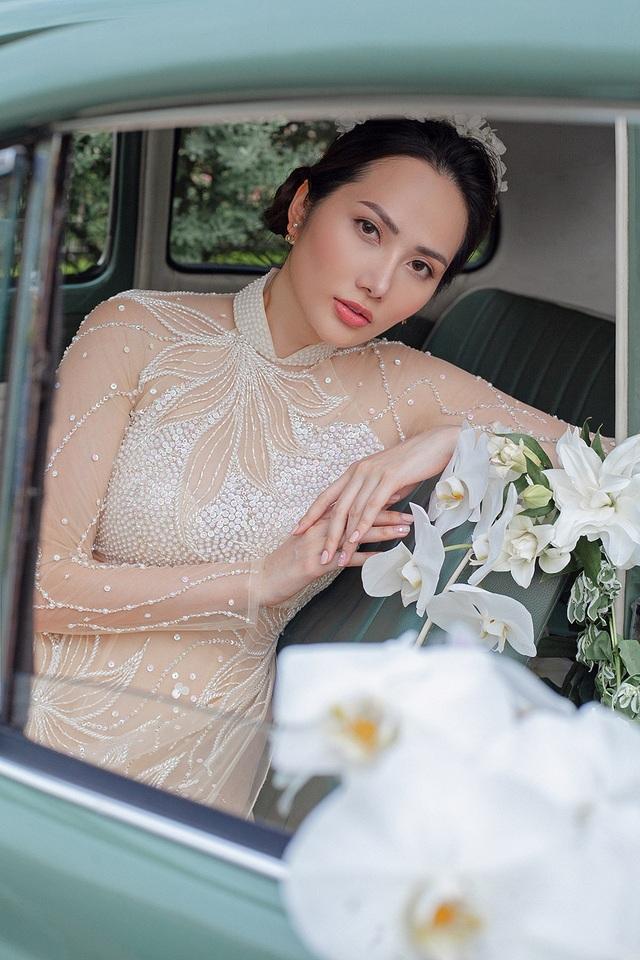 Vừa công khai yêu em chồng Hà Tăng, Linh Rin đã bất ngờ mặc áo dài cưới - 20