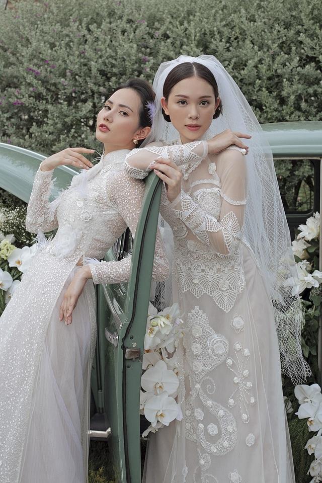 Vừa công khai yêu em chồng Hà Tăng, Linh Rin đã bất ngờ mặc áo dài cưới - 19