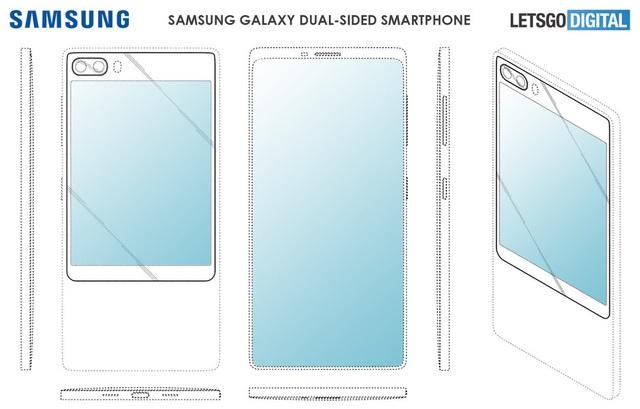 Samsung sẽ trang bị kiểu thiết kế 2 màn hình độc đáo cho Galaxy S11? - 1