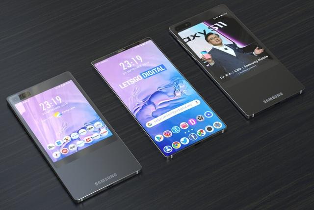 Samsung sẽ trang bị kiểu thiết kế 2 màn hình độc đáo cho Galaxy S11? - 2