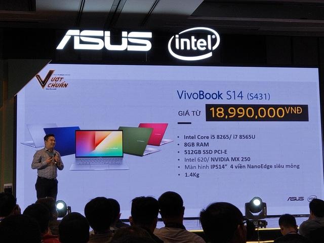 ASUS ra mắt VivoBook S14/S15 lần đầu tích hợp Intel Optane H10, giá từ 19 triệu đồng - 6