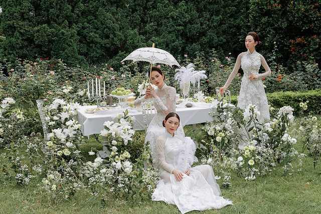 Vừa công khai yêu em chồng Hà Tăng, Linh Rin đã bất ngờ mặc áo dài cưới - 16