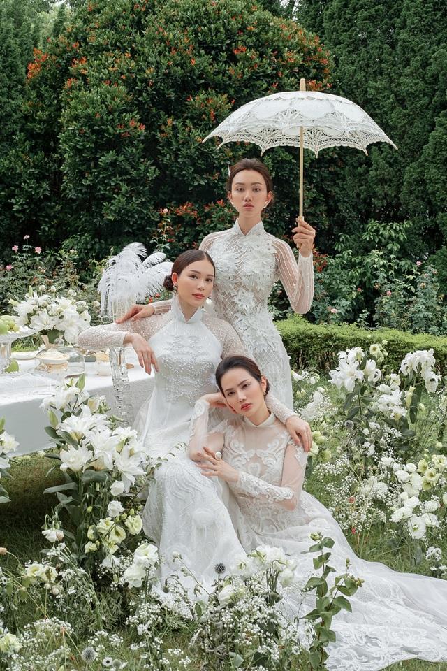 Vừa công khai yêu em chồng Hà Tăng, Linh Rin đã bất ngờ mặc áo dài cưới - 14