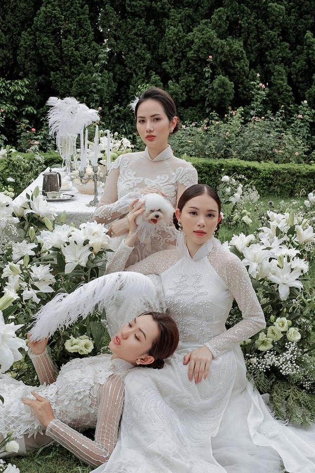 Vừa công khai yêu em chồng Hà Tăng, Linh Rin đã bất ngờ mặc áo dài cưới - 15