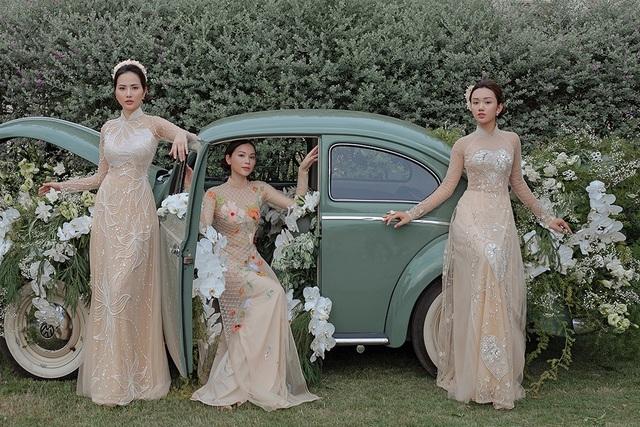 Vừa công khai yêu em chồng Hà Tăng, Linh Rin đã bất ngờ mặc áo dài cưới - 18