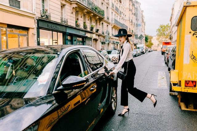 Kỳ Duyên buông lơi vòng một bốc lửa khi dự tuần lễ thời trang Paris - 6