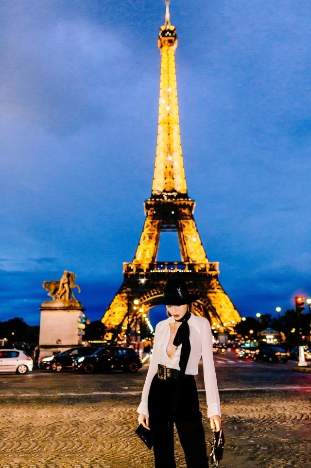 Kỳ Duyên buông lơi vòng một bốc lửa khi dự tuần lễ thời trang Paris - 8