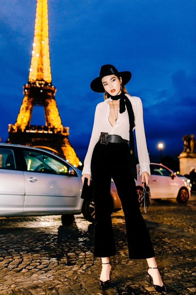 Kỳ Duyên buông lơi vòng một bốc lửa khi dự tuần lễ thời trang Paris - 1
