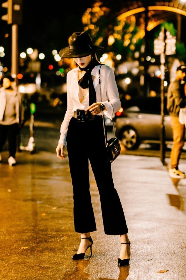 Kỳ Duyên buông lơi vòng một bốc lửa khi dự tuần lễ thời trang Paris - 11