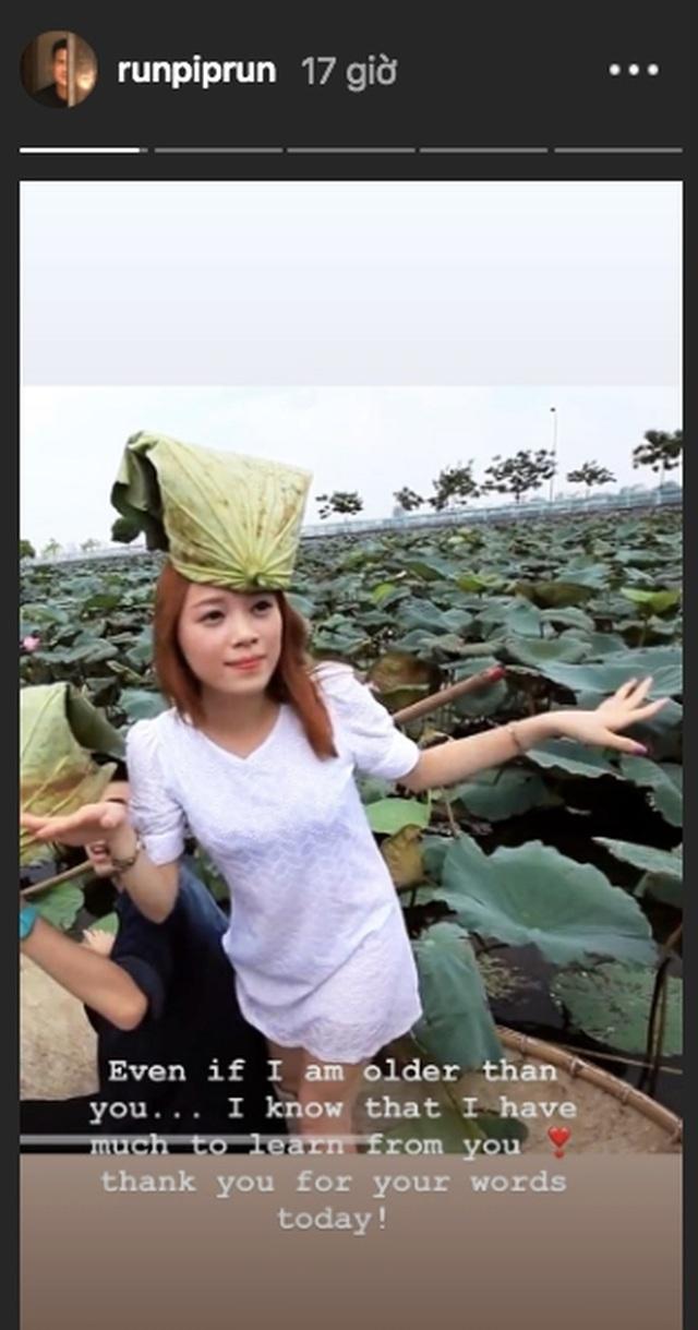 Vừa công khai yêu em chồng Hà Tăng, Linh Rin đã bất ngờ mặc áo dài cưới - 5