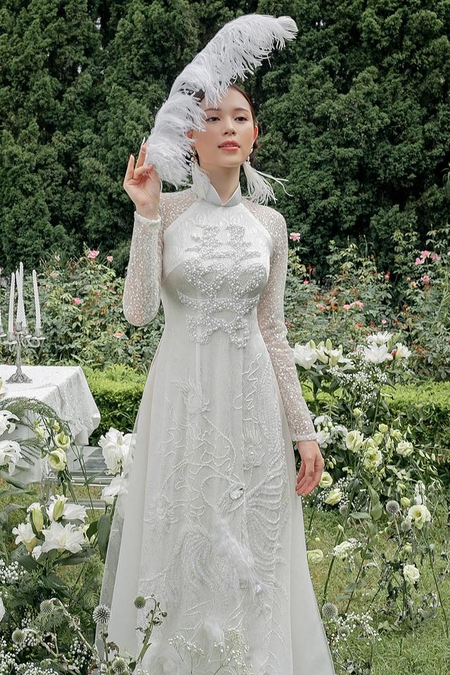 Vừa công khai yêu em chồng Hà Tăng, Linh Rin đã bất ngờ mặc áo dài cưới - 12