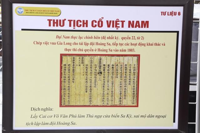 """Triển lãm """"Hoàng Sa, Trường Sa của Việt Nam – Những bằng chứng lịch sử pháp lý"""" - Ảnh minh hoạ 5"""