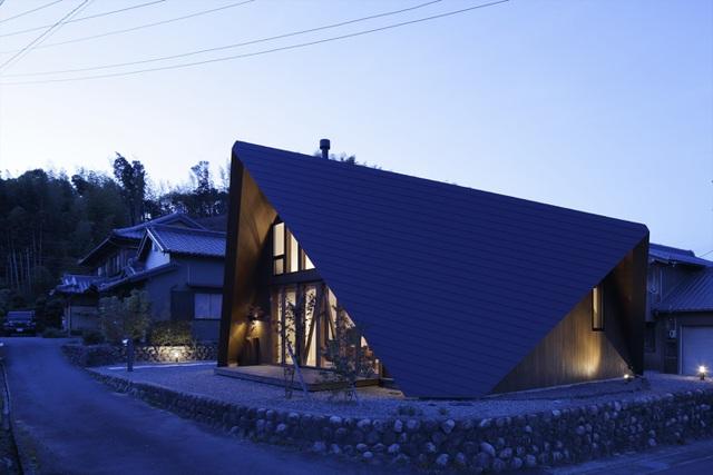 """Mê mẩn ngôi nhà ở vùng quê Nhật Bản lấy cảm hứng từ """"Origami"""" - 19"""