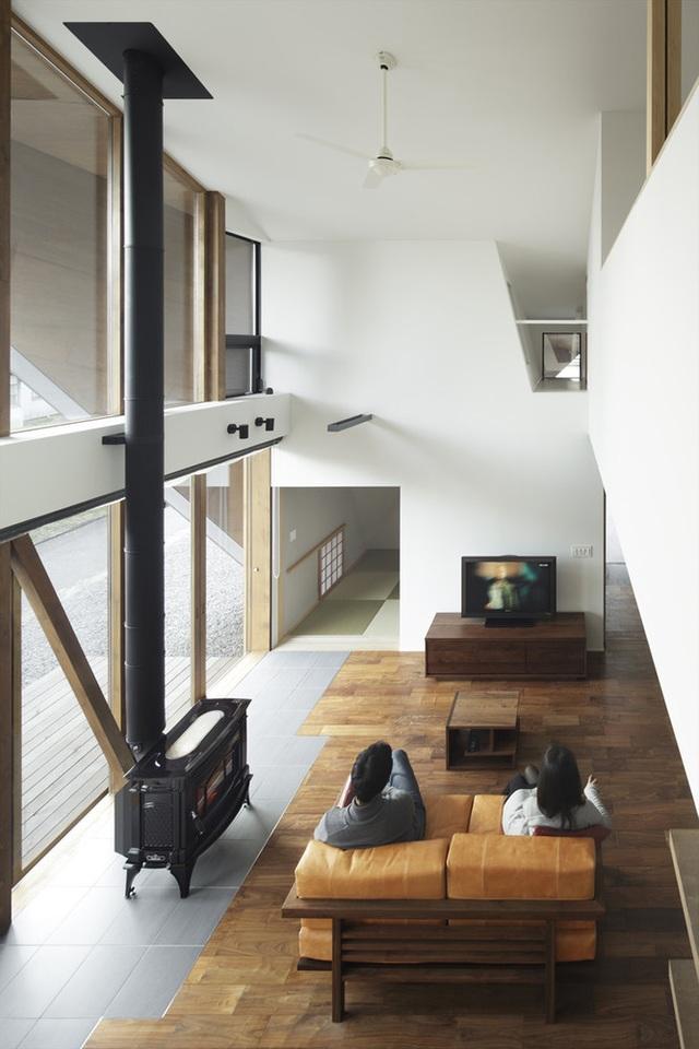 """Mê mẩn ngôi nhà ở vùng quê Nhật Bản lấy cảm hứng từ """"Origami"""" - 6"""