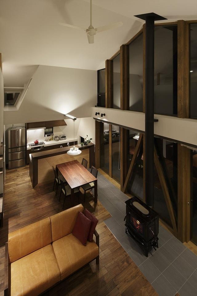 """Mê mẩn ngôi nhà ở vùng quê Nhật Bản lấy cảm hứng từ """"Origami"""" - 12"""