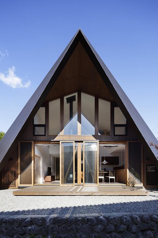"""Mê mẩn ngôi nhà ở vùng quê Nhật Bản lấy cảm hứng từ """"Origami"""" - 10"""