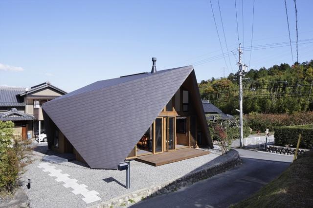"""Mê mẩn ngôi nhà ở vùng quê Nhật Bản lấy cảm hứng từ """"Origami"""" - 1"""