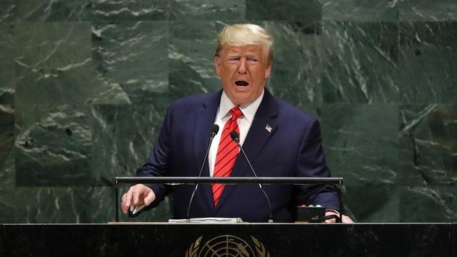 Tổng thống Trump tố Iran giữa Liên Hợp Quốc - 1