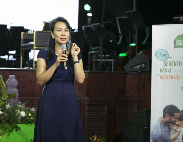 """HLV sức khoẻ Trần Lan Hương: """"Sống xanh để bảo vệ chính con cháu chúng ta"""" - 1"""