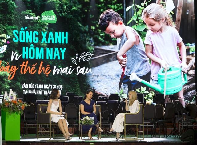 """HLV sức khoẻ Trần Lan Hương: """"Sống xanh để bảo vệ chính con cháu chúng ta"""" - 2"""