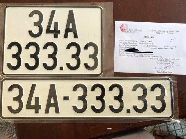 """Chủ cũ xe Accent biển ngũ 3 siêu đẹp """"cay đắng"""" gạ mua lại giá gần gấp đôi - 1"""