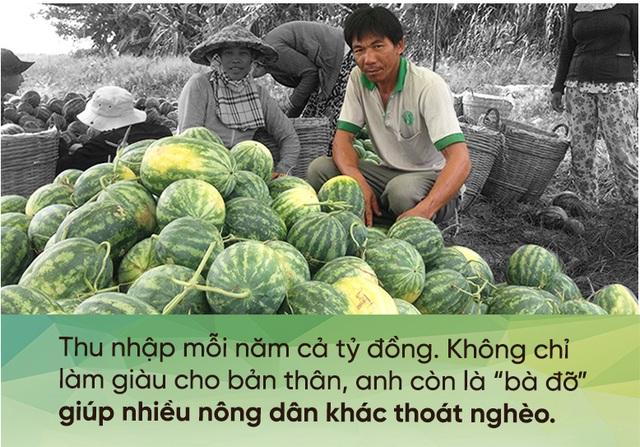 Anh nông dân kiếm tiền tỷ mỗi năm, bảo lãnh cho cả xóm làm giàu - 1