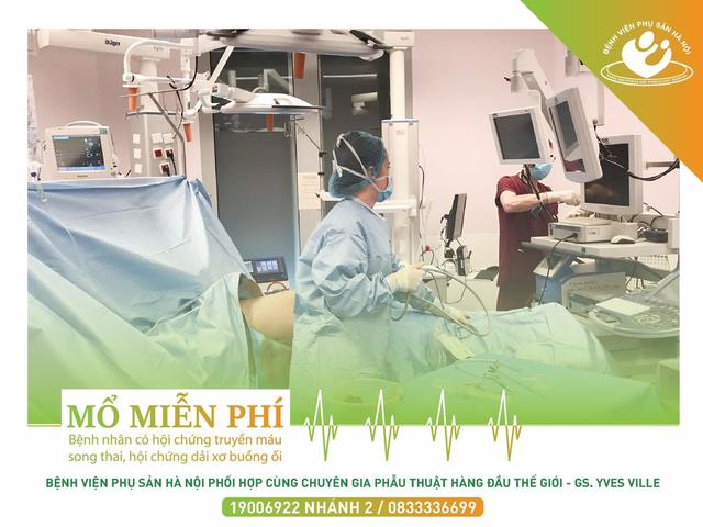 Bệnh viện Phụ sản Hà Nội mổ miễn phí cho bệnh nhân có hội chứng truyền máu song thai, hội chứng dải xơ buồng ối - 3