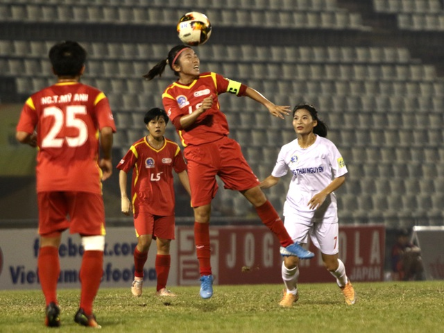 TPHCM tiến gần đến ngôi vô địch giải bóng đá nữ vô địch quốc gia 2019 - 1