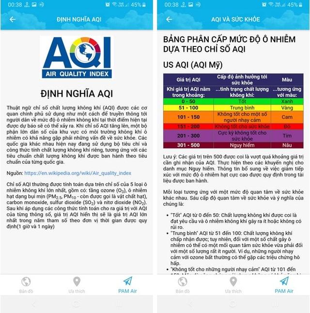 Ứng dụng hữu ích kiểm tra chất lượng không khí tại nơi bạn đang sinh sống - 3