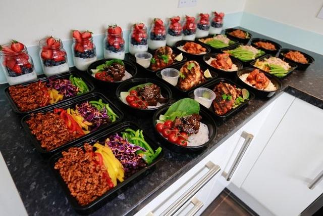 Cặp đôi giảm 95kg nhờ nấu 1 lần ăn cả tuần - 2