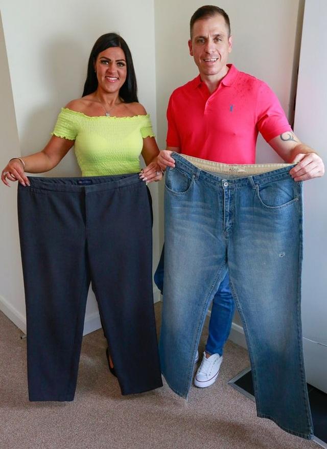 Cặp đôi giảm 95kg nhờ nấu 1 lần ăn cả tuần - 3