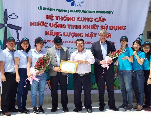 Dự án của Atlas Copco Việt Nam mang nước sạch đến trường mầm non Cư Pui – Đắk Lắk - 2