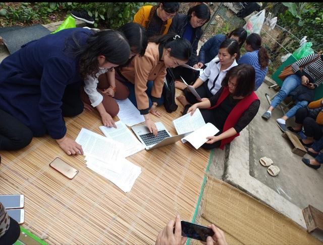 Hàng trăm giáo viên hợp đồng Sóc Sơn kiến nghị tới Bộ trưởng Bộ Nội vụ - 1