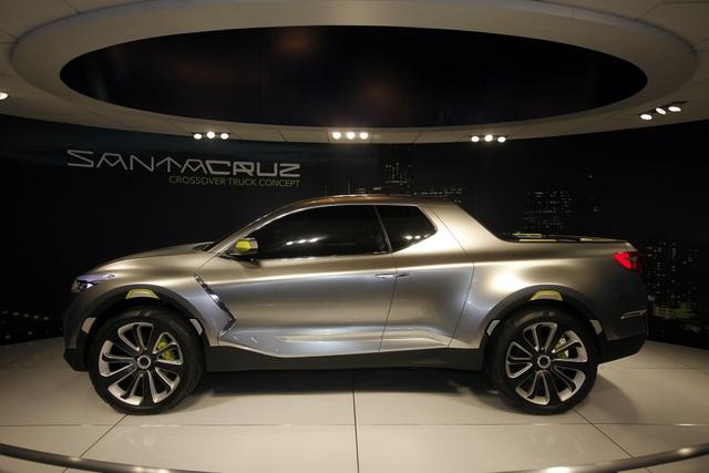 Hyundai chốt thời gian, địa điểm sản xuất xe bán tải Santa Cruz  - 3